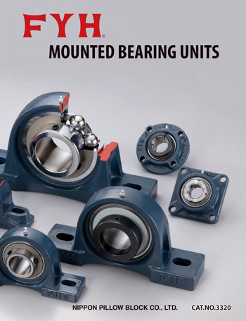 MOUNTED BEARING UNITS catalog image | FYH INC.