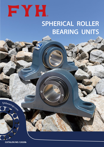 Spherical Roller Bearing Units catalog image | FYH INC.