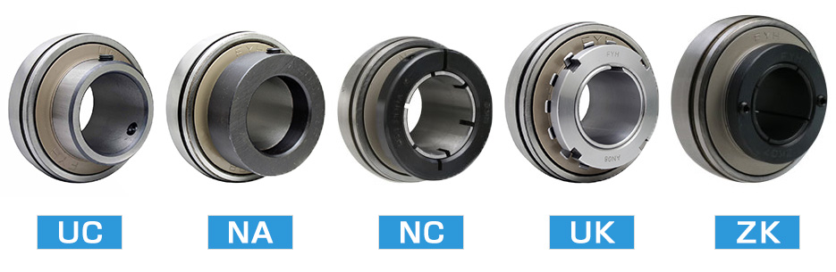4. Please select the bearing fixing method. | Selection guide FYH INC. Features