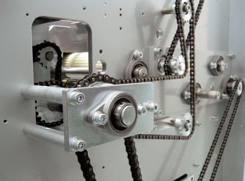 クリーンシリーズ ひしフランジ形ユニット使用例 食品包装機 | FYH株式会社 シリーズ特徴