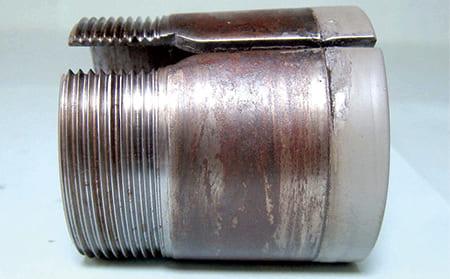 写真5-3 - 3.3.2 摩擦腐食(フレッチングコロージョン)(フレッチングさび)