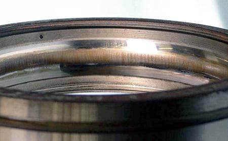 写真7-3 - 3.4 電食(電気フルーチング)