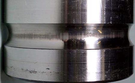 写真7-4 - 3.4 電食(電気フルーチング)